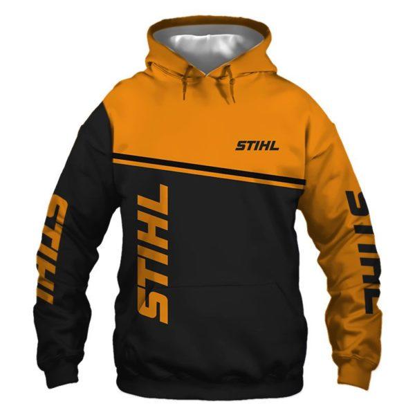 Stihl 3D All Over Print Shirt Apparel