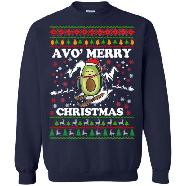 Avocado Avo' Merry Christmas sweater Apparel