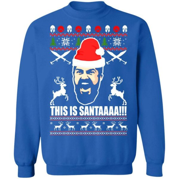 This Is Santaaa Christmas Sweater Apparel