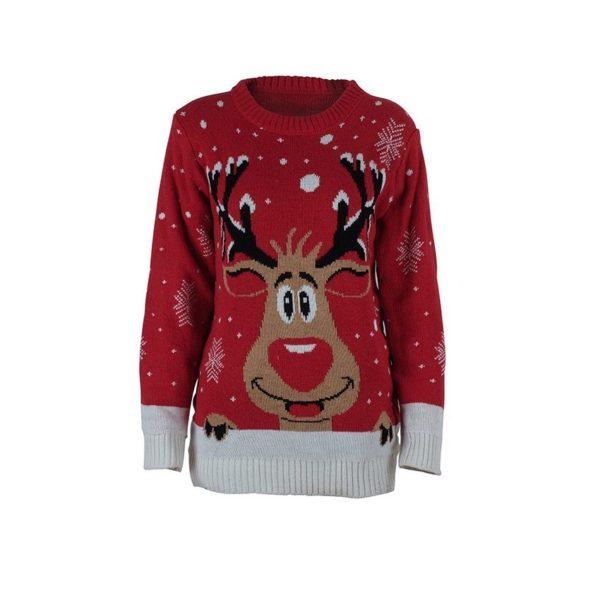 Snowman Deer Sweaters New Santa Claus Apparel