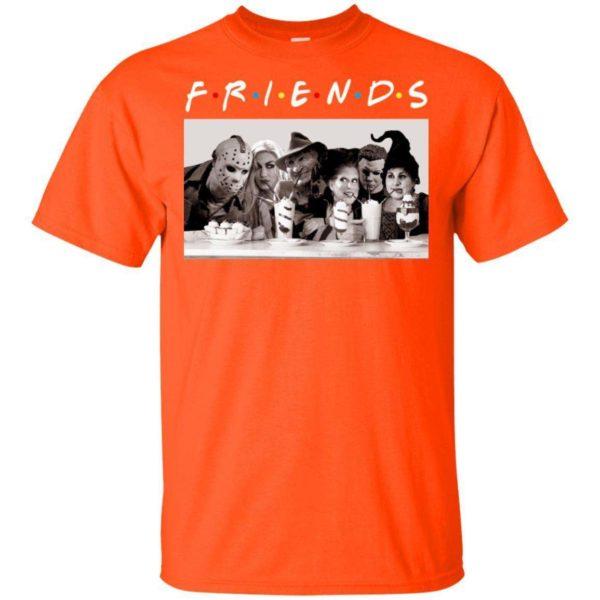 Hocus Pocus Michael Myers Jason Voorhees Freddy Krueger Friends Halloween T shirt VA08 Apparel