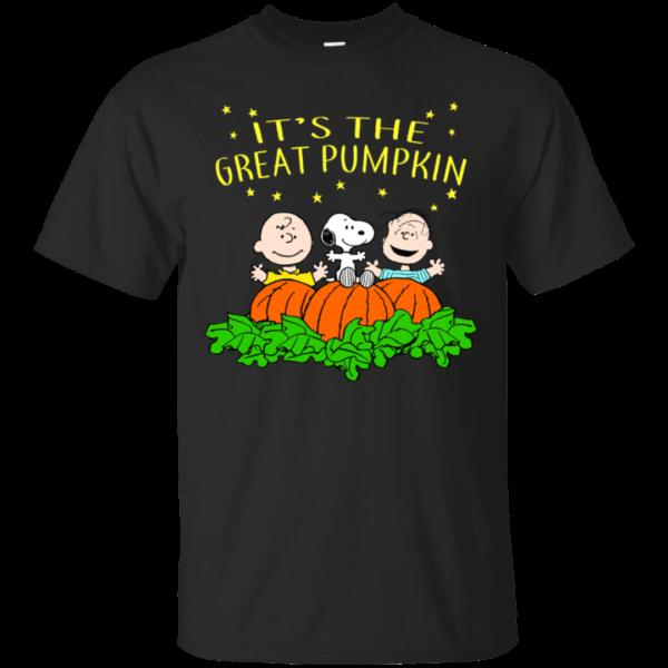 It's The Great Pumpkin Snoopy Halloween T Shirt Apparel