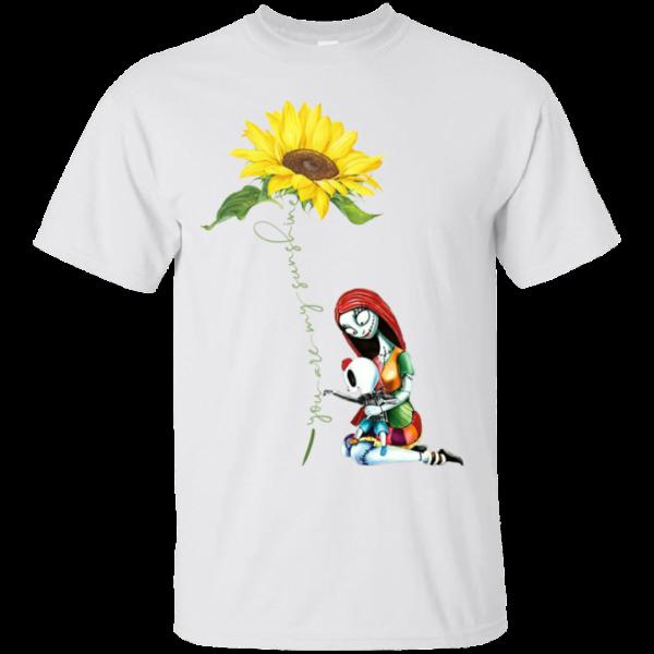 You are my sunshine sunflower Sally Nightmare T Shirt Uncategorized