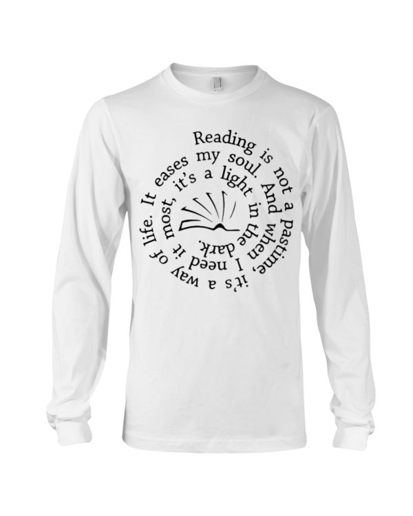 Librarian Reading Is Not A Pastime Shirt Apparel
