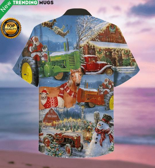 Christmas Farm Hawaiian Shirt Jisubin Apparel