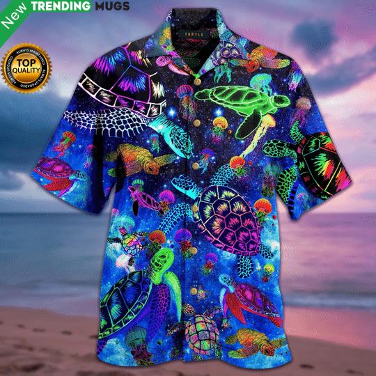 Amazing Sea Turtle Christmas Hawaiian Shirt Jisubin Apparel
