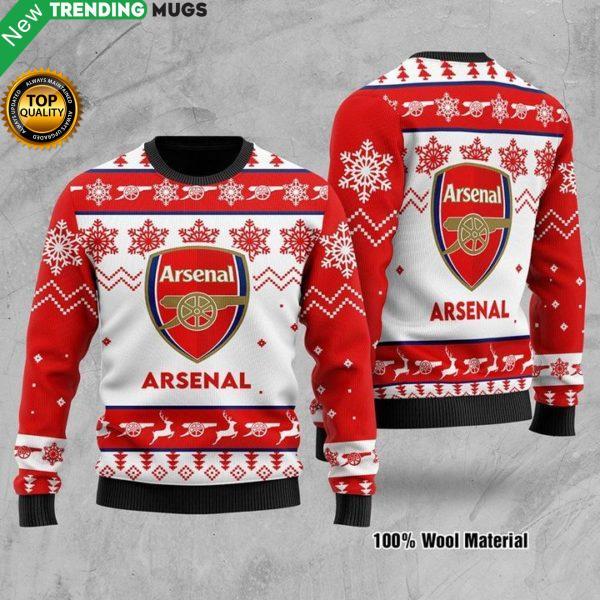 Arsenal 3D Pattern Printed Sweatshirt Jisubin Apparel