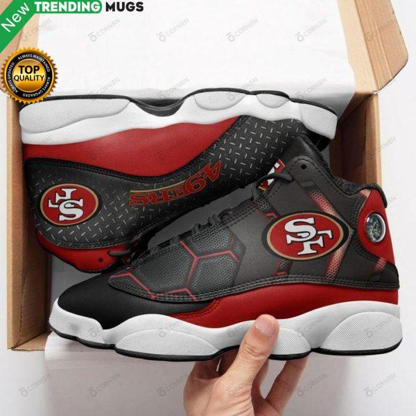San Francisco 49Ers Air Jd13 Sneakers Shoes & Sneaker