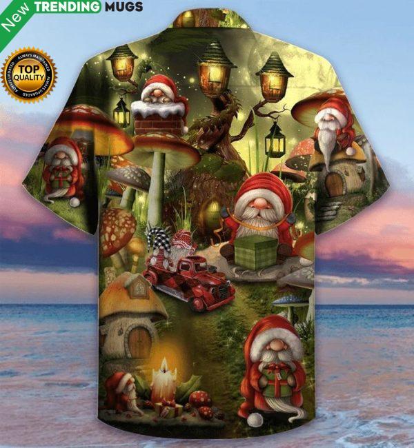 The Gift Of The Gnome Christmas Hawaiian Shirt Jisubin Apparel