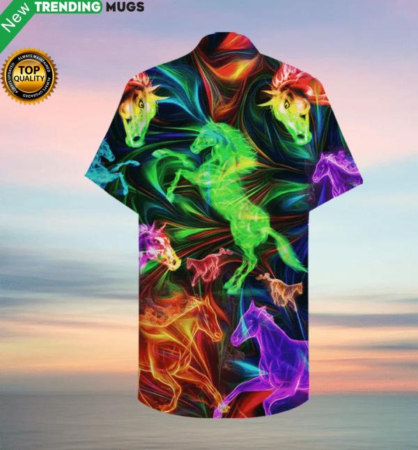 Amazing Horse Hawaiian Shirt Jisubin Apparel