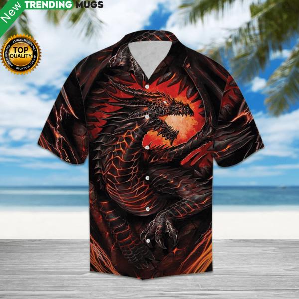 Mythical Dragon Hawaiian Shirt Jisubin Apparel