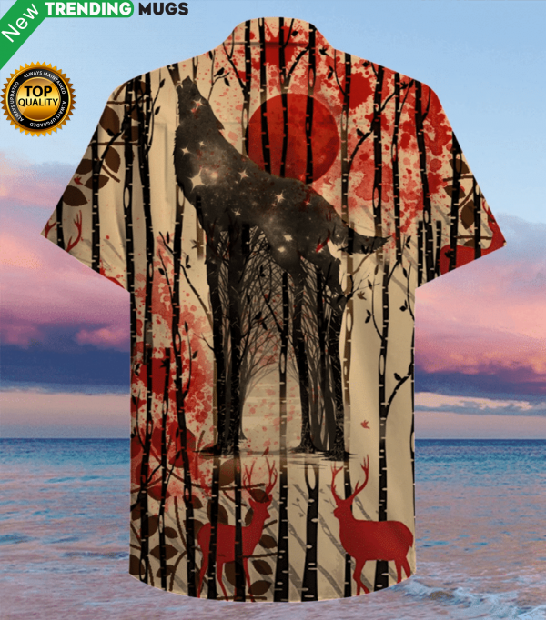 One Wolf Lives, No Sheep's Safe Christmas Hawaiian Shirt Jisubin Apparel