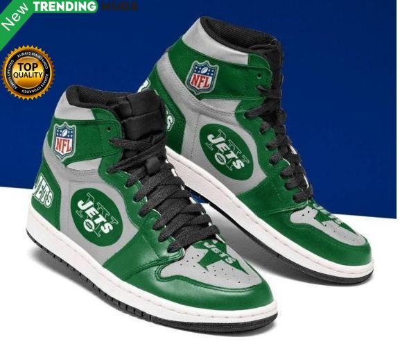 New York Jets Jordan Sneakers Custom Jordan Shoe Sneaker Shoes & Sneaker