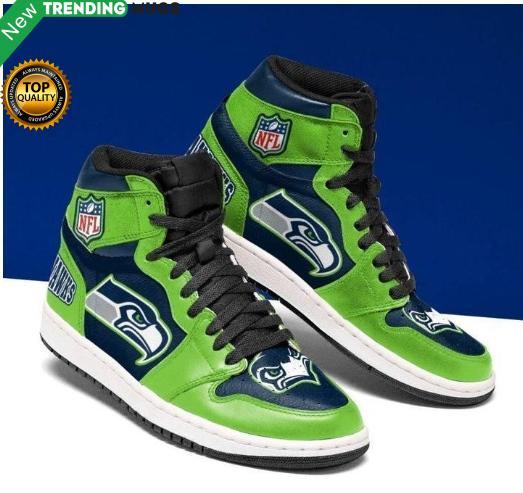 Seattle Seahawks Men Jordan Shoes Green Shoes & Sneaker