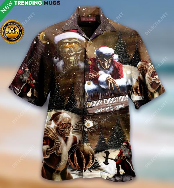 All I Want For Christmas Is Santa Claus Hawaiian Shirt Jisubin Apparel