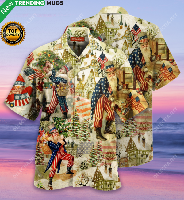 I Heard You Coming Santa Claus Hawaiian Shirt Jisubin Apparel