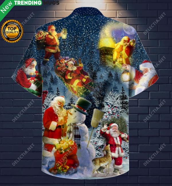 Magical Christmas Santa Claus Hawaiian Shirt Jisubin Apparel