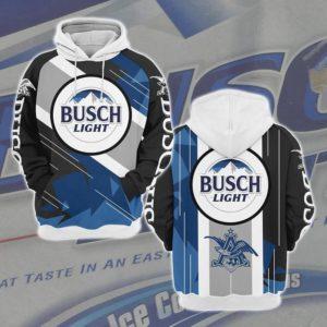 3D All Over Printed Busch Light Hoodie