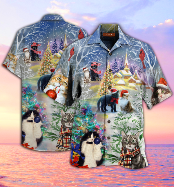 Have A Purry Furry Hawaiian Shirt Jisubin Apparel