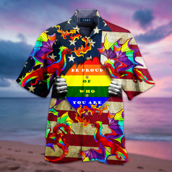 Amazing Rainbow Dragon Hawaiian Shirt Jisubin Apparel