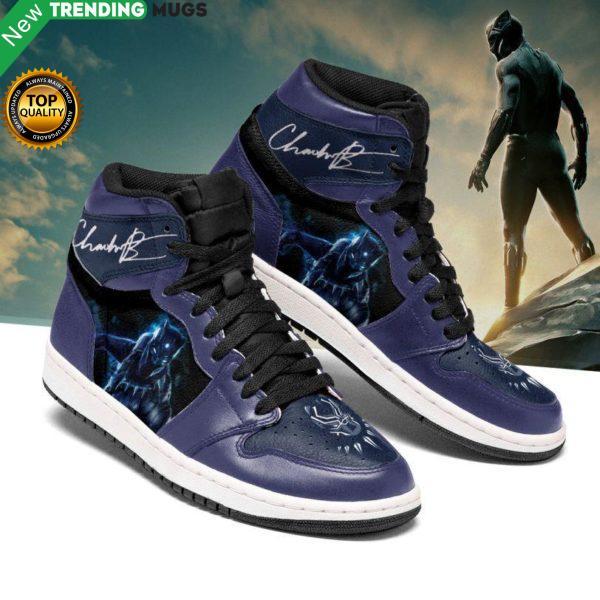 Black Panther Chadwick Boseman Jordan Sneakers Shoes & Sneaker