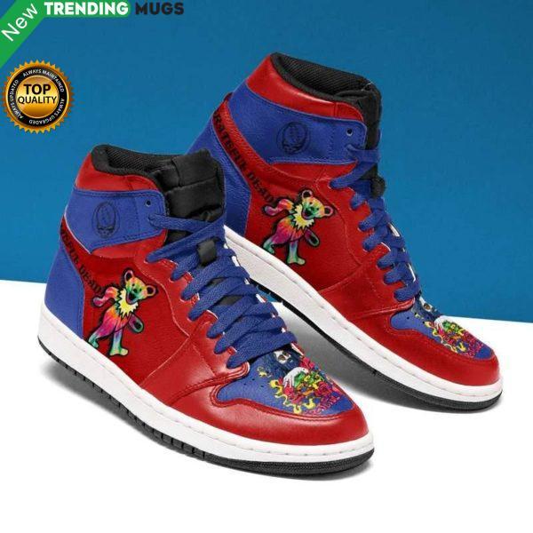 Grateful Dead Men Jordan Shoes Dancing Bears Custom Sneakers Shoes & Sneaker
