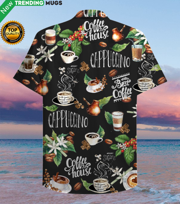 I Love Coffee Hawaiian Shirt Jisubin Apparel
