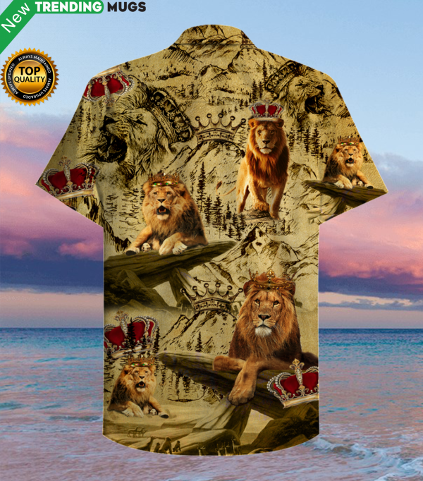 Born To Be A King Hawaiian Shirt Jisubin Apparel