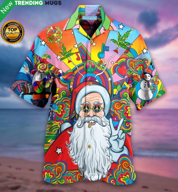 Merry PeaceMas Santa Claus Hawaiian Shirt Jisubin Apparel