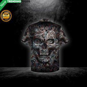 Illusion Skull Hawaiian Shirt Jisubin Apparel
