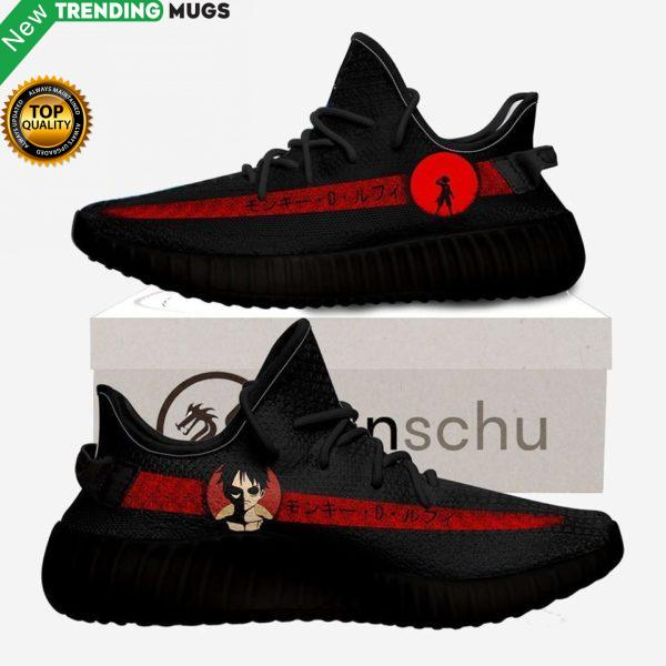 Monkey D Luffy Custom Yeezy Sneaker Boost Shoes & Sneaker
