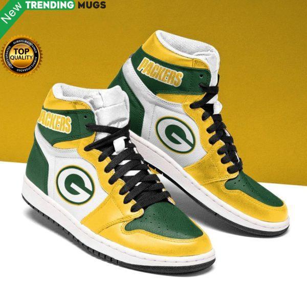 Green Bay Packers Green Yellow Running Shoes Jordan Sneaker Shoes & Sneaker