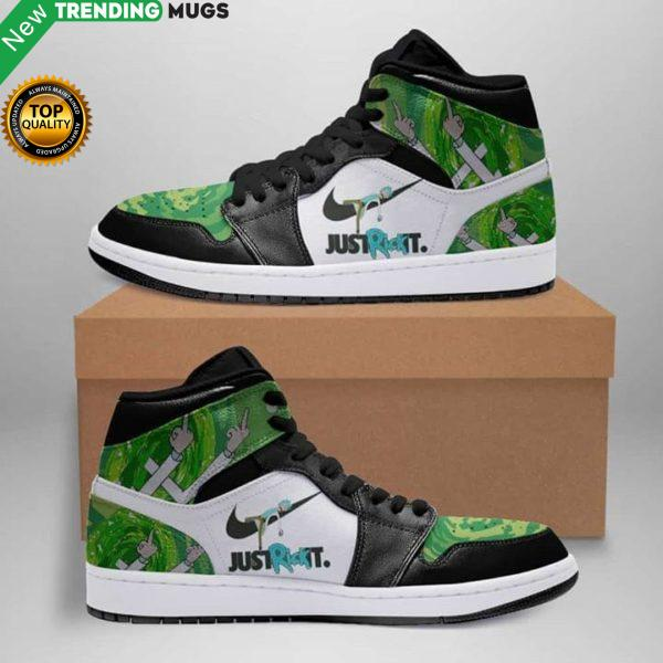 Just Rick It Rick And Morty Air Jordan Sneakers Shoes & Sneaker