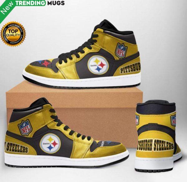 Pittsburgh Steelers Jordan Sneakers Custom Jordan Shoe Sneaker Dakingmanstore Shoes & Sneaker