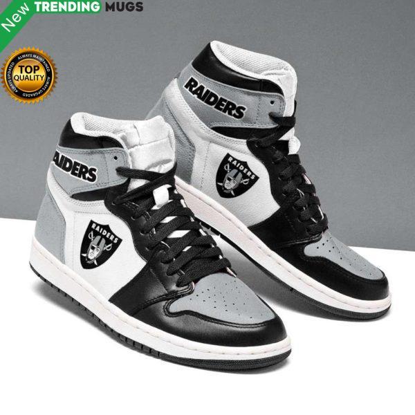 Oakland Raiders Grey Running Shoes Jordan Sneaker Shoes & Sneaker