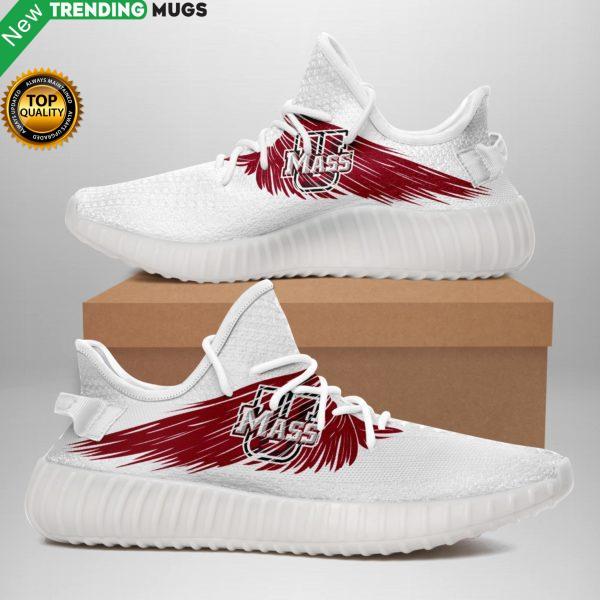 Limited Edition ? Umass Minutemen Wings Custom Sneakers Shoes & Sneaker