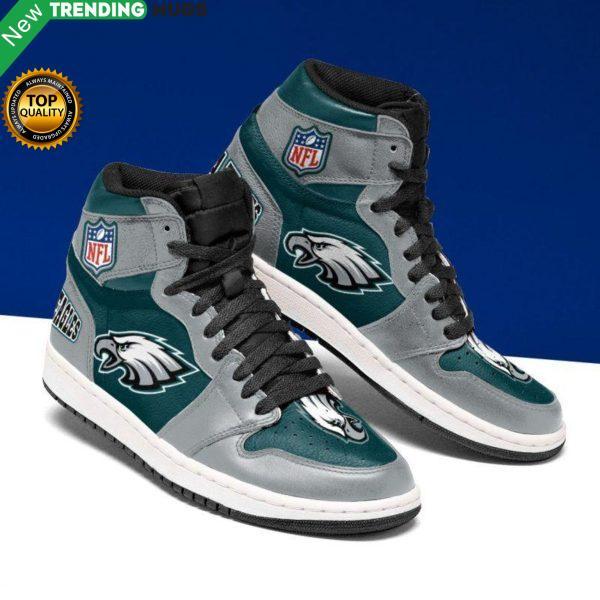 Philadelphia Eagles Jordan Sneakers Custom Jordan Shoe Sneaker Dakingmanstore Shoes & Sneaker