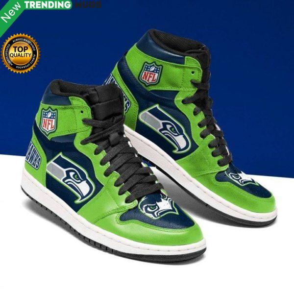 Seattle Seahawks Jordan Sneakers Custom Jordan Shoes Shoes & Sneaker