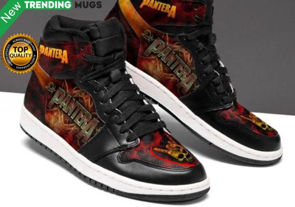 Pantera Jordan Sneakers For Fans Custom Jordan Shoe Sneaker Shoes & Sneaker