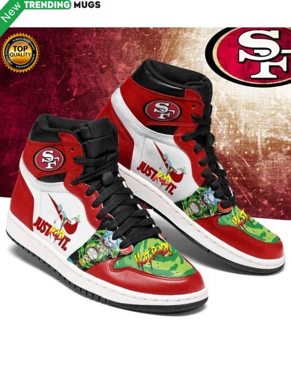 Hot Rod San Francisco 49Ers Jordan Sneakers Custom Shoes Shoes & Sneaker