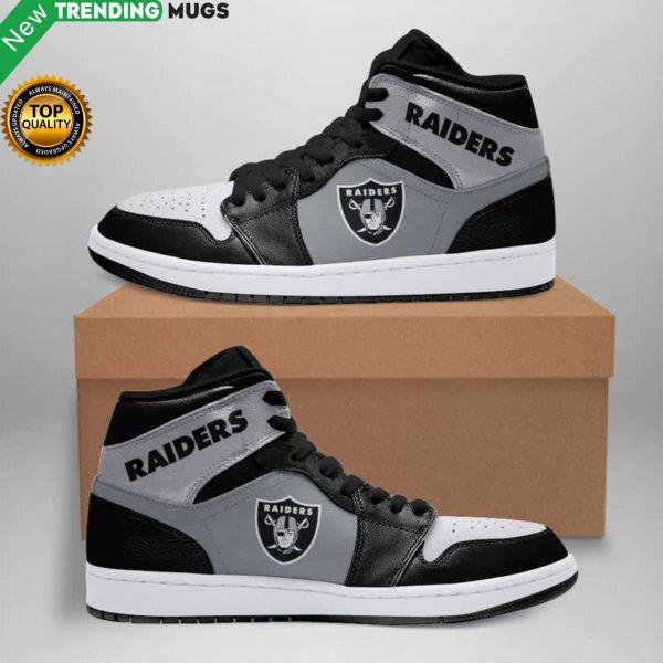 Oakland Raider Air Jordan Sneakers Custom Jordan Shoe Sneaker Shoes & Sneaker