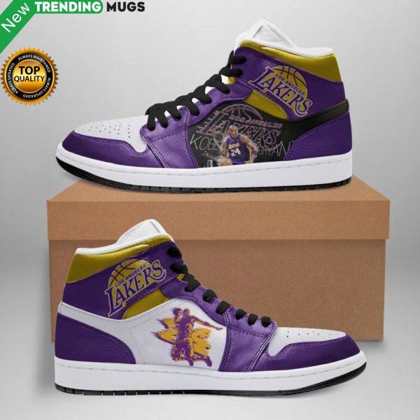 Kobe Bryant Jordan Sneakers White Soles Black Shoelaces Leather Shoes Shoes & Sneaker