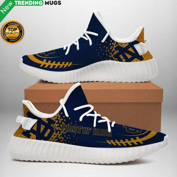 Notre Dame Fighting Irish Sneakers ? Special Edition White Shoes & Sneaker