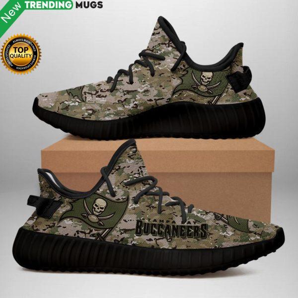 Tampa Bay Buccaneers U.S. Military Camouflage Unisex Sneaker Football Custom Shoes Tampa Bay Buccaneers Yeezy Boost Shoes & Sneaker