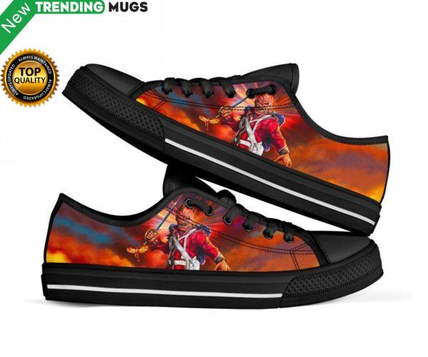 Iron Maiden Shoes Low Top Sneakers Unisex Shoes & Sneaker