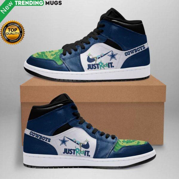 Rick And Morty Dallas Cowboys Jordan Sneakers Custom Jordan Shoe Sneaker Shoes & Sneaker