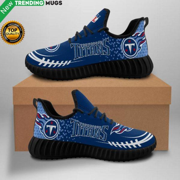 Tennessee Titans Unisex Sneakers New Sneakers Custom Shoes Tennessee Titans Yeezy Boost Shoes & Sneaker