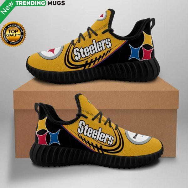 Pittsburgh Steelers Nfl Unisex Sneakers New Sneakers Custom Shoes Pittsburgh Steelers Yeezy Boost Shoes & Sneaker