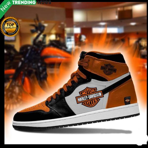 Harley Davidson Men Jordan Shoes Motorcycle Harley Davidson Custom Sneakers Shoes & Sneaker