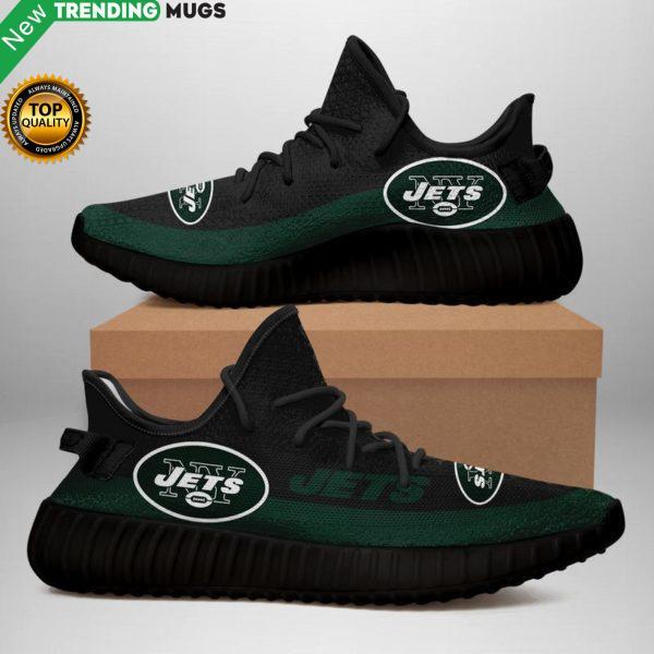 New York Jets Unisex Sneaker Football Custom Shoes New York Jets Yeezy Boost Shoes & Sneaker